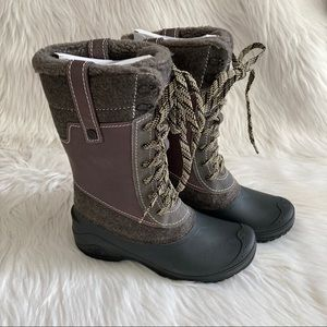 Women's 7.5 The North Face Shellista Snow Boots